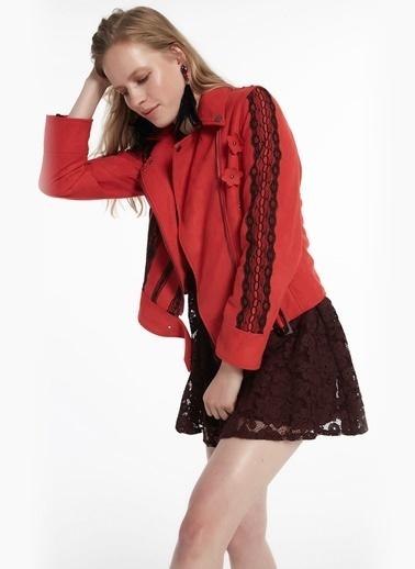 Twist Ceket Kırmızı